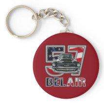 1957 Chevy Belair Key Chain. Keychain