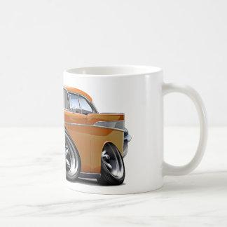 1957 Chevy Belair Orange Hot Rod Coffee Mug