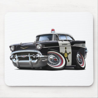 1957 Chevy Belair Police Car Mouse Pad