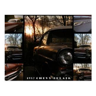 1957 Chevy Belair Postcard
