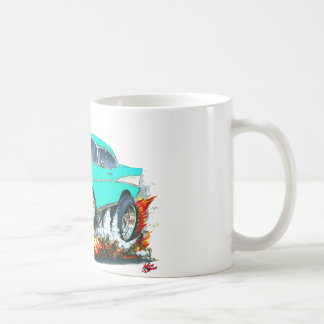 1957 Chevy Belair Turquoise Car Mugs