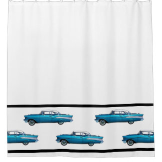Classic Cars Shower Curtains | Zazzle