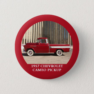 1957 Chevy Chevrolet Cameo Pickup Button