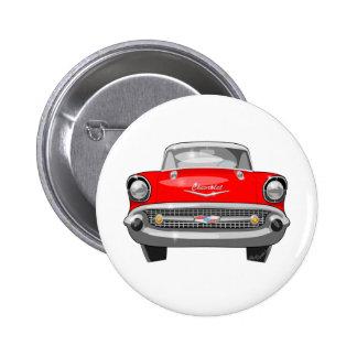 1957 Chevy Front View Button