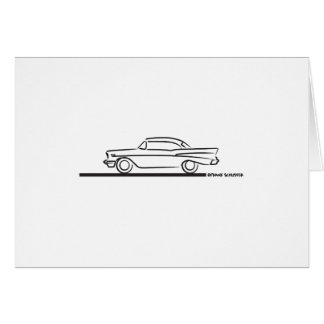 1957 Chevy Hard Top Coupe Card