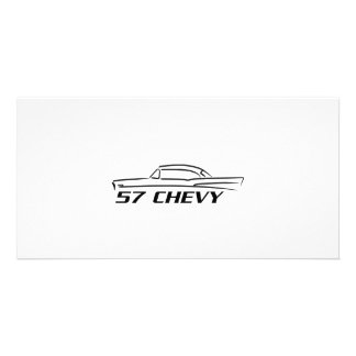1957 Chevy Hard Top Type Photo Card
