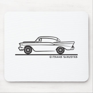 1957 Chevy Hardtop Coupe Mouse Pad