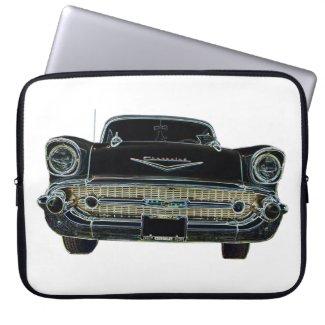 1957 Chevy Laptop Sleeve