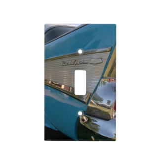 1957 Chevy Ligth Switch Cover Blue Light Switch Cover