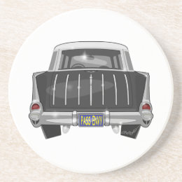 1957 Chevy Nomad Drink Coaster