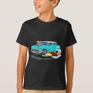 1957 Chevy Nomad Turquoise Car T-Shirt