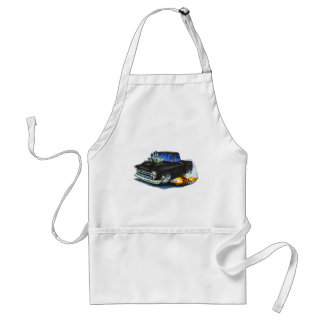 1957 Chevy Pickup Black Adult Apron