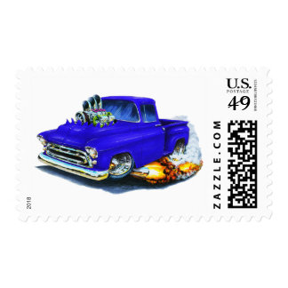 1957 Chevy Pickup Blue Stamp
