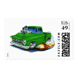1957 Chevy Pickup Green Stamp