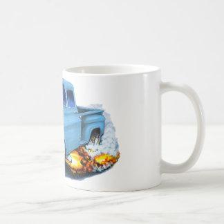 1957 Chevy Pickup Lt Blue Coffee Mug