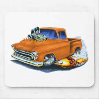 1957 Chevy Pickup Orange Mouse Pad