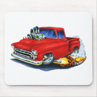 1957 Chevy Pickup Red Mouse Pad