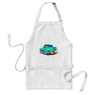 1957 Chevy Pickup Seafoam Green Adult Apron