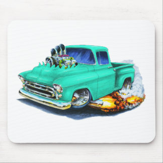 1957 Chevy Pickup Seafoam Green Mouse Pad