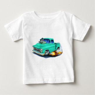 1957 Chevy Pickup Seafoam Green Tee Shirt