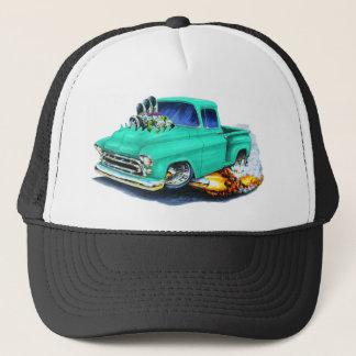 1957 Chevy Pickup Seafoam Green Trucker Hat