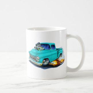 1957 Chevy Pickup Turquoise Coffee Mug