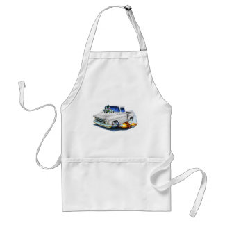 1957 Chevy Pickup White Adult Apron