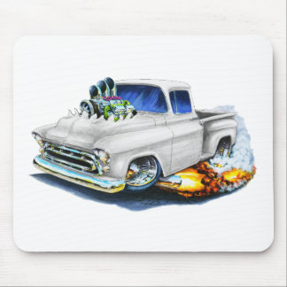 1957 Chevy Pickup White Mouse Pad