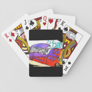 1957 Chevy Playing Cards