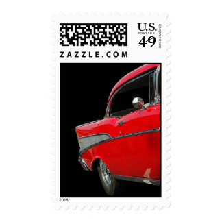 1957 Chevy Postage Stamp