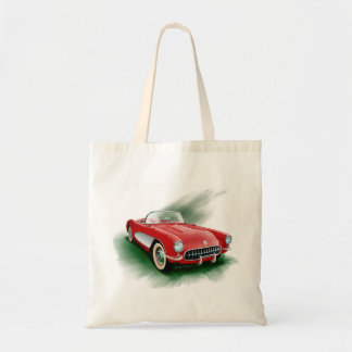 1957 Corvette Tote Bag
