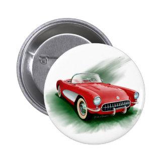 1957 Corvette Pinback Button