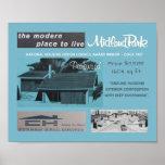 vintage, retro, home, heritage, midland park, mcm