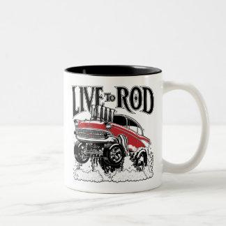1957 Gasser Kitchenware Two-Tone Coffee Mug