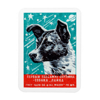 1957 Laika the Space Dog Magnet