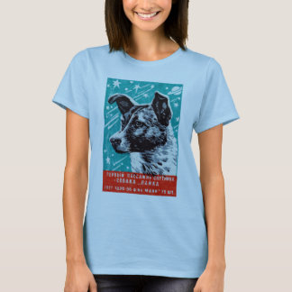 1957 Laika the Space Dog T-Shirt