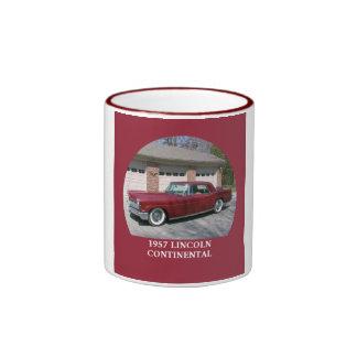 1957 Lincoln Continental Ringer Coffee Mug