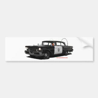 1957-mercury-monterey-highway-patrol-car bumper sticker
