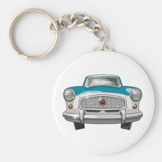 1957 Metropolitan Front Keychain