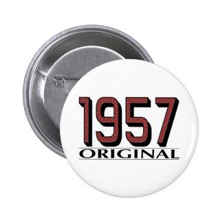1957 Original Pinback Button