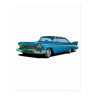 1957 Plymouth Belvedere Sport Coupe Postcard