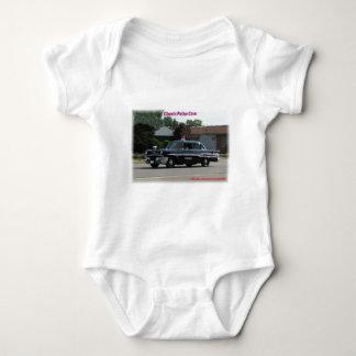 1957 Pontiac Laurentian Police Car Baby Bodysuit