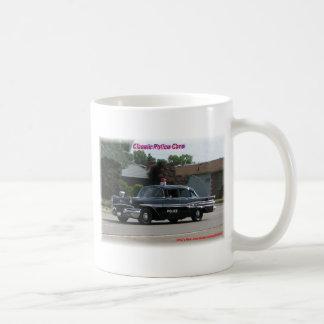 1957 Pontiac Laurentian Police Car Coffee Mug