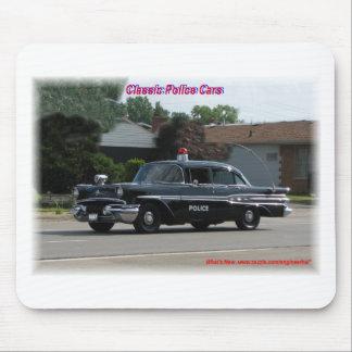 1957 Pontiac Laurentian Police Car Mouse Pad