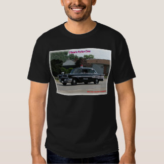 1957 Pontiac Laurentian Police Car T-Shirt