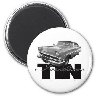 1957 Pontiac Tin Indian Magnet