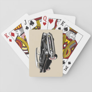 1957 Shoebox Playing Cards in Black and White