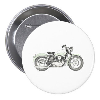 1957 Sportster Motorcycle Button