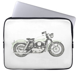1957 Sportster Motorcycle Computer Sleeve