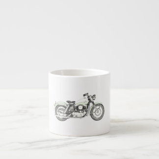 1957 Sportster Motorcycle Espresso Cup